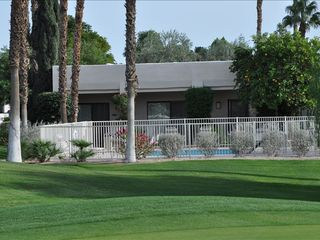 Cathedral City condo photo - Pool on the 4th fairway
