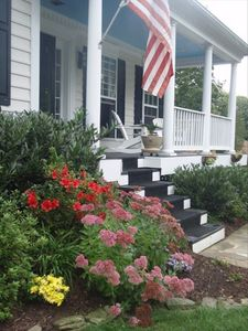 Front porch rocking chairs to help you celebrate the seasons in Annapolis.