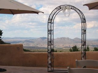 Santa Fe estate photo - The view to forever..perfect for weddings!
