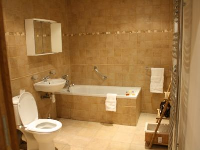 Vergisson apartment rental - La Forge Bathroom