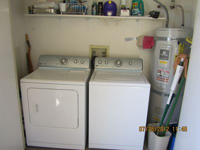 full size washer & dryer new in 2009