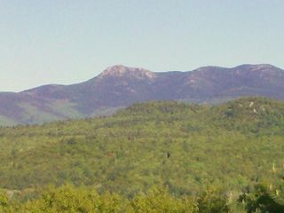 Madison house photo - Awesome view of Mount Chocorua as seen from the back deck.
