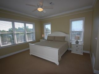 Fort Morgan property rental photo - The featured King Master Suite is also on the 2nd floor: TV,DVD,Walk-in closet.