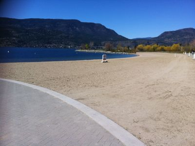 Waterfront Beach - within a 5 minute walk
