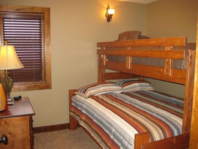 Deadwood house rental - Bedroom 3 (Bedroom 4 is same)