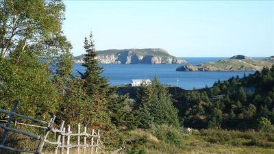 Tors Cove from the East Cove Trail which goes right past the house...
