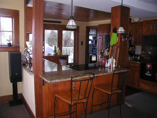 York Beach house photo - Kitchen with Double Oven, Fridge, Icemaker, Dishwasher, Disposal, and Cooktop