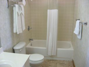 Kill Devil Hills cottage photo - This is the bathroom area--linens are provided