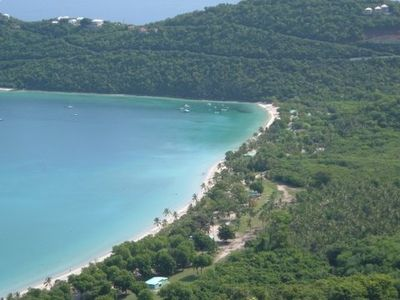 Megan's Bay in St. Thomas