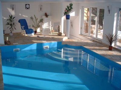Comfortable holiday home with swimming pool and sauna in a quiet location