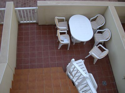 Caleta de Fuste (El Castillo) house rental - Rear patio area