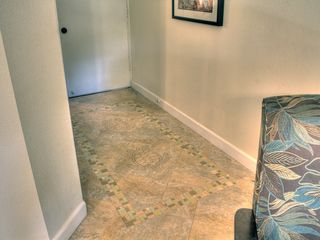 "Honokowai condo photo - Custom ""etched"" Sea Turtle tiles with glass inlay!"