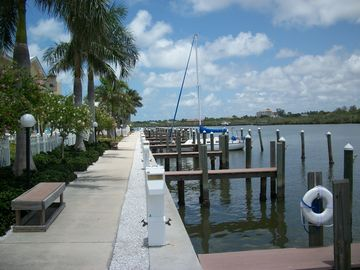 Walk along the intracoastal waterway