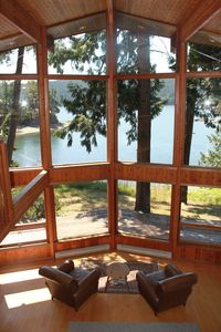 Pender Island house rental - .A spectacular view!