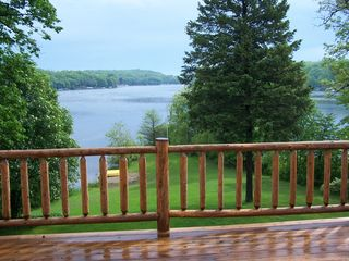 Elkhorn house photo - The best view of the lake is right from our deck!