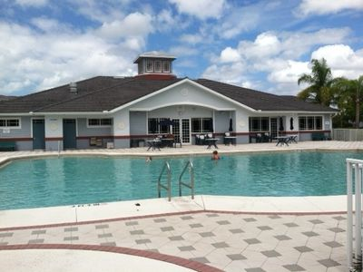 Fort Myers Beach condo rental - Pool and clubhouse