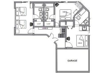 Princeville house photo - Floorplan, First Floor