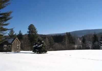 Arlington, Vermont in Winter.