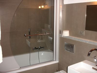 Gignod apartment rental - bathroom of Flat 3