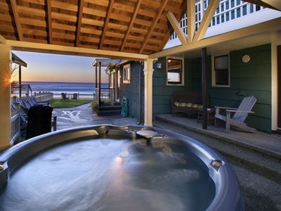Hot tub with Full Ocean View
