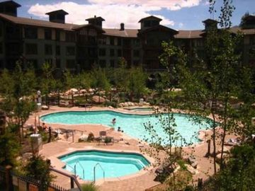 Year Round Heated Pool to 85 degrees, Resort Like Pool in Mammoth Lakes