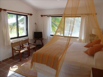 The Second Floor Master Bedroom Has Exquisite Views of the Bay.