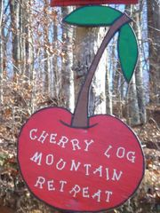 Blue Ridge cabin photo - Our 'street sign'