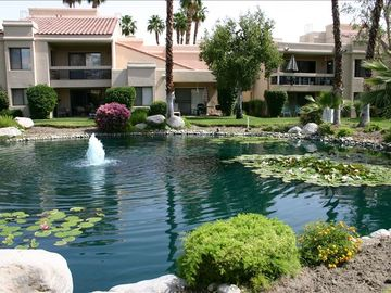 Cathedral City condo rental - View from back patio