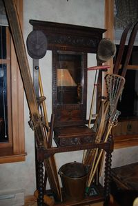 Antique sports equipment