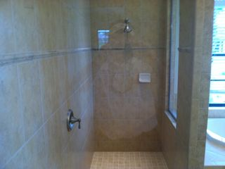 North Port house photo - Terrific walk in shower