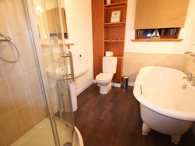 Islay & Mid Argyll house rental - The fabulous new downstairs bathroom