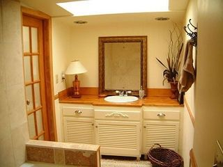 Lake Arrowhead cabin photo - Downstairs Bathroom