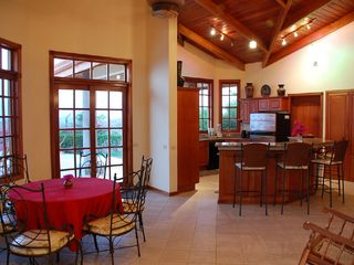Playa Hermosa house photo - Dining Area and Kitchen