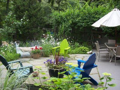 Vineyard Haven house rental - Back Patio