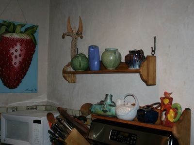 Kitchen Art and tea pot collection