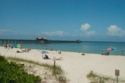 Enjoy a sunny day at our gorgeous naples beach pier just a shuttle drive away.