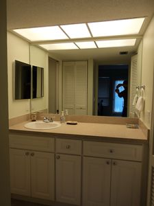 Just renovated private master bathroom.