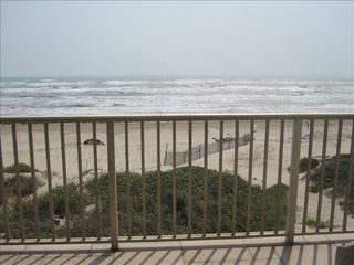 South Padre Island house photo - Ocean view from upper balcony