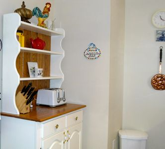 Dresser in kitchen