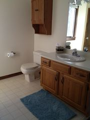 Moultonborough house photo - Bathroom #3, upstairs