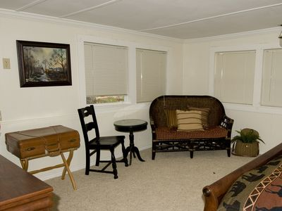 Sitting area in the Master Bedroom