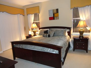 Master Suite with walkin wardrobe & ensuite shower and bathroom