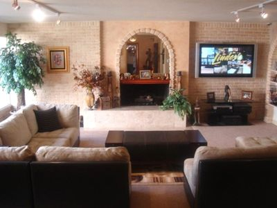 Family Room with Sectional Couch