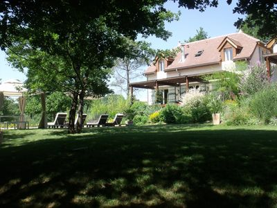 Luxury Country Cottage Close to Lively Village on Lot Dordogne Border