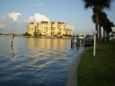 Steps to Boca Ciega Bay to the rear of the cottage. Good fishing off the seawall