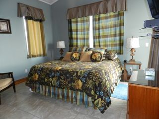 Pensacola Beach house photo - King bedroom on 3rd level. Uses hall bathroom.