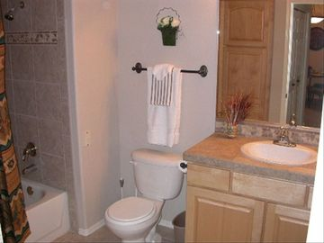 Large, Second Bathroom.