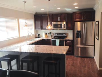Old Town Scottsdale townhome rental - Updated kitchen with new appliances and a wine fridge!