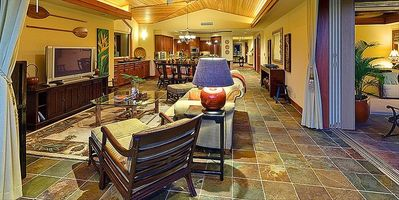 Great Room from Lanai Kitchen