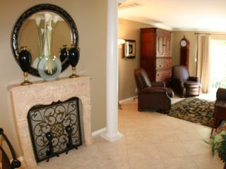 Old Town Scottsdale townhome photo - Louis XI Marbel entry way Mantel